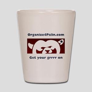 Organize4Palin Shot Glass