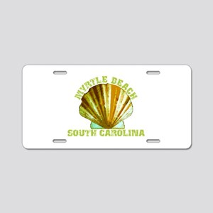 Myrtle Beach South Carolin Aluminum License Plate