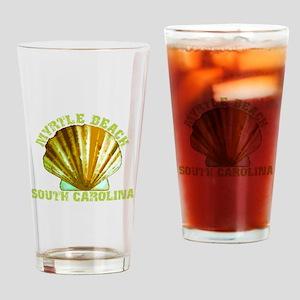 Myrtle Beach South Carolina Drinking Glass