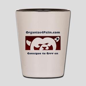 Organize4Palin Spanish Shot Glass