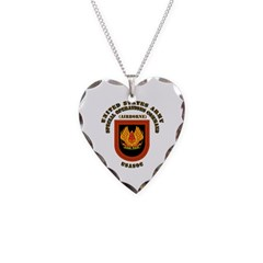 SOF - USASOC Flash with Text Necklace