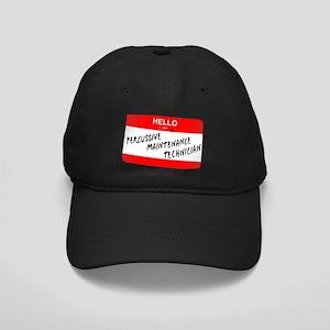 Percussive Tech Black Cap