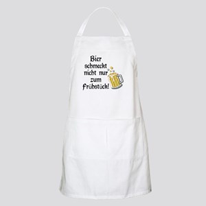 German Beer Is Just Not For Breakfast Apron