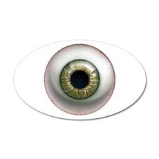 The Eye: Hazel 22x14 Oval Wall Peel