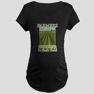 Outstanding Farmers Maternity Dark T-Shirt
