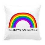 Rainbow Everyday Pillow