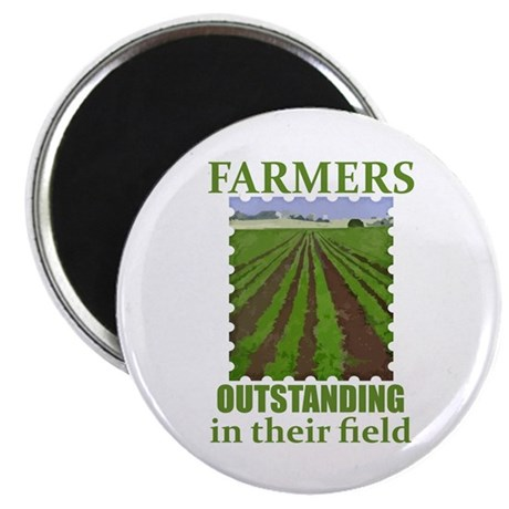 "Outstanding Farmers 2.25"" Magnet (100 pack)"