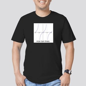 Nice Tan Lines Men's Fitted T-Shirt (dark)