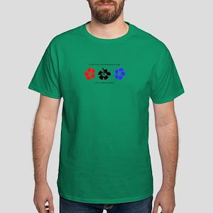 Hibiscus Customizable Dark T-Shirt