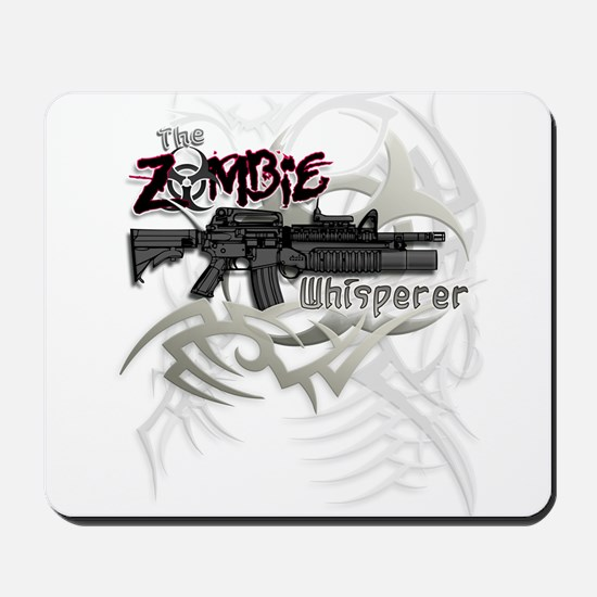 Zombie Whisperer Hunter M16 Mousepad