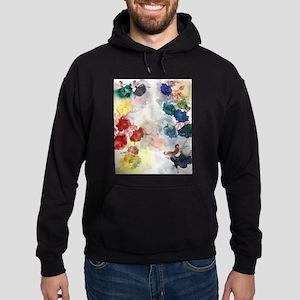 Watercolor Tutu's Hoodie (dark)