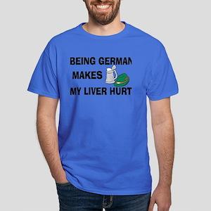 Funny German Drinking Dark T-Shirt