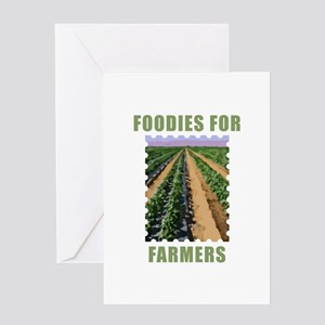 Foodies for Farmers Greeting Card