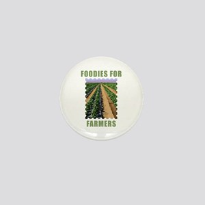 Foodies for Farmers Mini Button