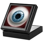 The Eye: Blue Keepsake Box