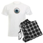 The Eye: Blue Men's Light Pajamas