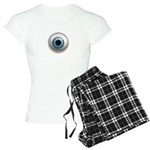 The Eye: Blue Women's Light Pajamas