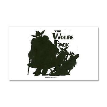 Nero Wolfe Car Magnet 20 x 12