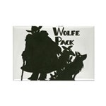 Nero Wolfe Rectangle Magnet (10 pack)