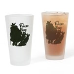 Nero Wolfe Drinking Glass