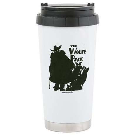 Nero Wolfe Stainless Steel Travel Mug