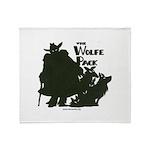 Nero Wolfe Throw Blanket