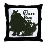 Nero Wolfe Throw Pillow
