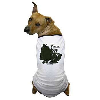 Nero Wolfe Dog T-Shirt