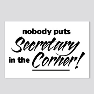 Secretary Nobody Corner Postcards (Package of 8)