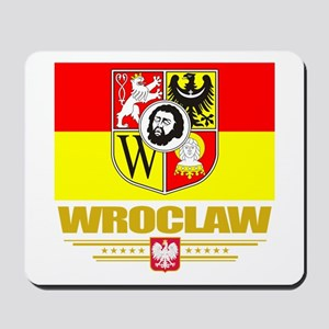 Wroclaw Flag Mousepad