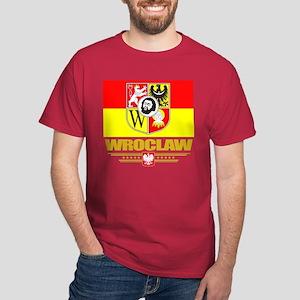 Wroclaw Flag Dark T-Shirt