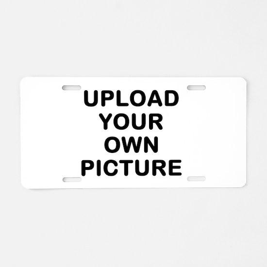 Design Your Own Aluminum License Plate