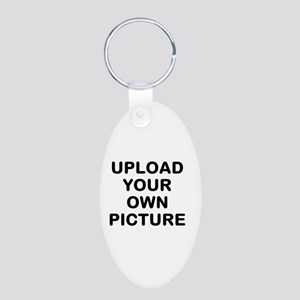Design Your Own Aluminum Oval Keychain