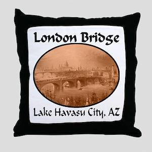London Bridge, Lake Havasu City, AZ Throw Pillow