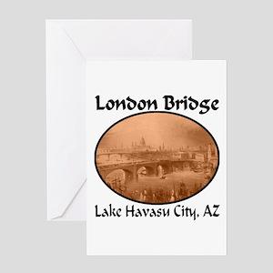 London Bridge, Lake Havasu City, AZ Greeting Card