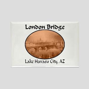 London Bridge, Lake Havasu City, AZ Rectangle Magn
