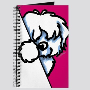 Peeking Coton de Tulear Journal