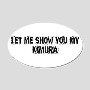 Kimura 22x14 Oval Wall Peel