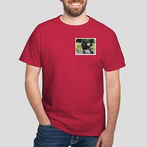 Poodle Standard 9R063D-090 Dark T-Shirt
