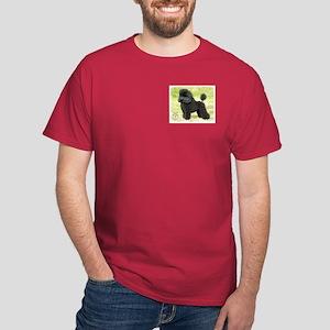 Poodle Toy 8T006D-08 Dark T-Shirt