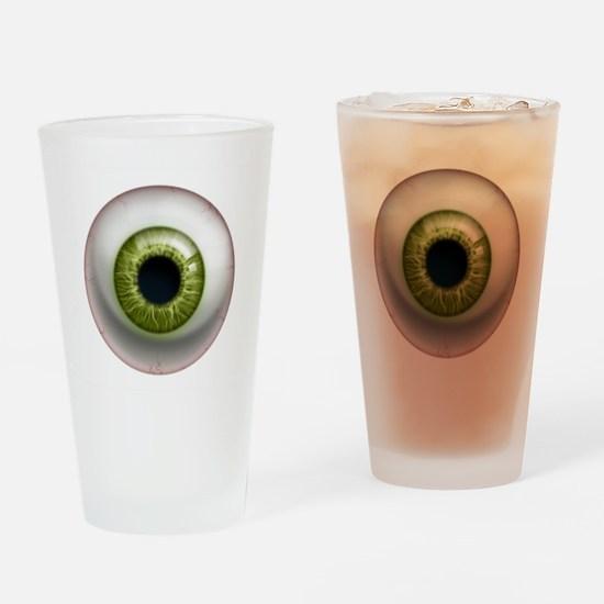 The Eye: Green Drinking Glass