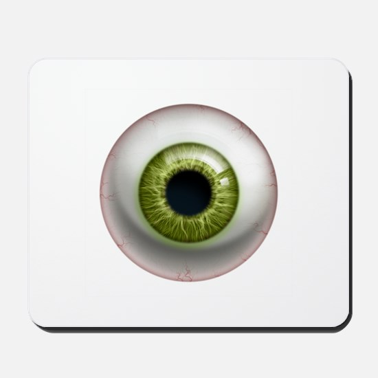 The Eye: Green Mousepad