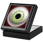 The Eye: Green, Light Keepsake Box