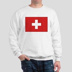 Switzerland Civil Ensign Sweatshirt
