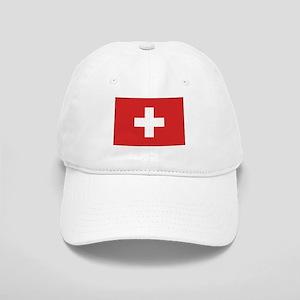 Switzerland Civil Ensign Cap