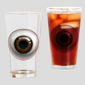 The Eye: Brown, Dark Drinking Glass