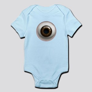 The Eye: Brown, Dark Infant Bodysuit
