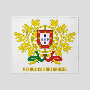 Portuguese COA Throw Blanket