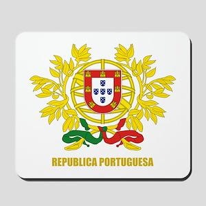 Portuguese COA Mousepad