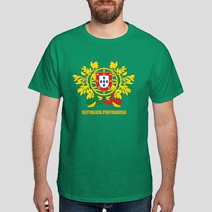 Portuguese COA Dark T-Shirt